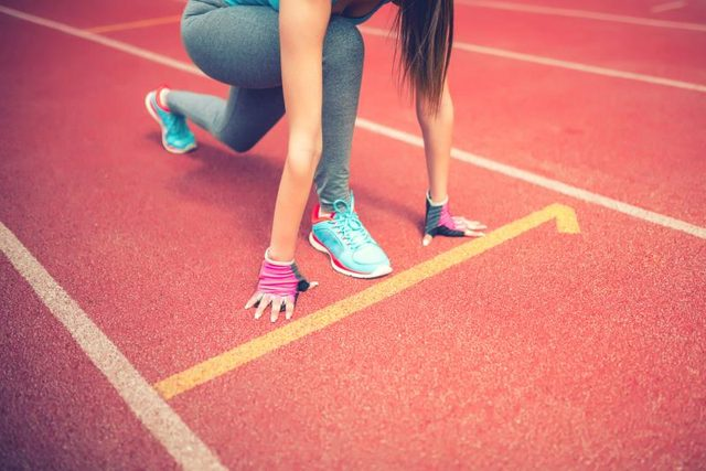 Sprinting is a high-impact activity that stresses your knees.