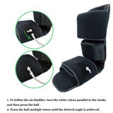 Plantar Fasciitis Night Splint with Pneumatic - 90 Degree Soft Leg Brace Support