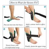 Air Gel Ankle Stirrup Brace