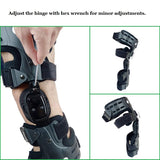 varus valgus adjustment knee brace