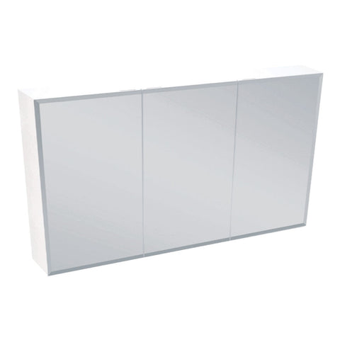 1200mm BEVELED EDGE Mirrored Shaving Cabinet, Soft Close
