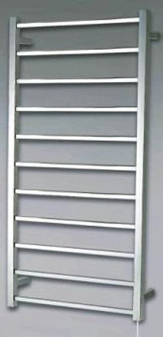 11 Bar Square Towel Warmer 1240 Hx580 W mm