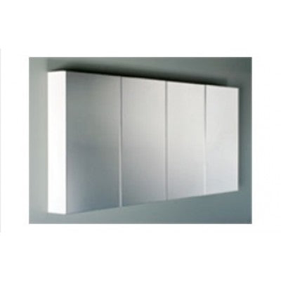 1800mm 4 DOOR,  4 x COLOURS, SILK Mirror Shaving Cabinet, Soft Close