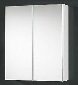 600mm BEVELLED EDGE Shaving Cabinet, Soft Close
