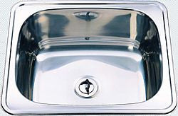 35L Drop In Bench Laundry Sink Stainless Steel
