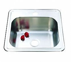 30L Drop-in Bench Laundry Tub 380x380mm