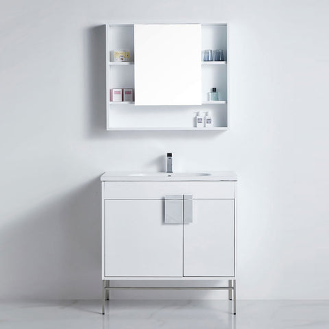 Spoleto vanity and shaver 900mm