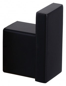 Quadra Linear Robe Hook MATTE BLACK