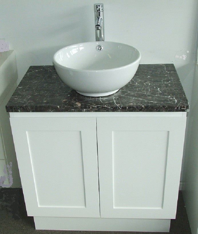 750 Shaker Vanity Stone Top Counter Basin Better Bathrooms