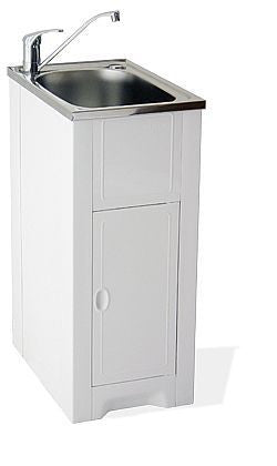 35L Mini 370 Skinny Tub & Cabinet 25yr Warranty