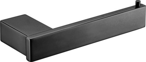 Quadra Linear Toilet Roll Holder  MATTE BLACK