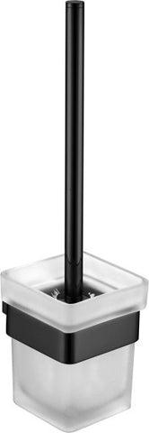 Quadra Linear Toilet Brush & Holder MATTE BLACK