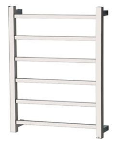 ARGO 6 Bar Towel Ladder 650mm S/Steel