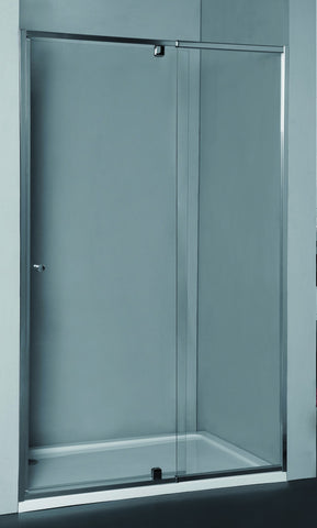 Wall-to-Wall Door & Frame Adjustable 985-1080 x 1950H mm