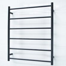 6 Bar BLACK Towel Ladder 600W x 780H mm
