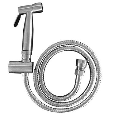 Bidet Sprayer with Bracket & Hose - Stainless Steel