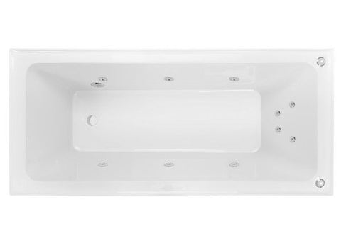 Decina CORTEZ 1520  SPA BATH - Santai 10 Jets White