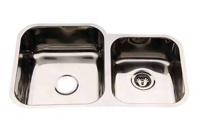 1 & 3/4 Bowl Undermount 790mm Stainless Steel