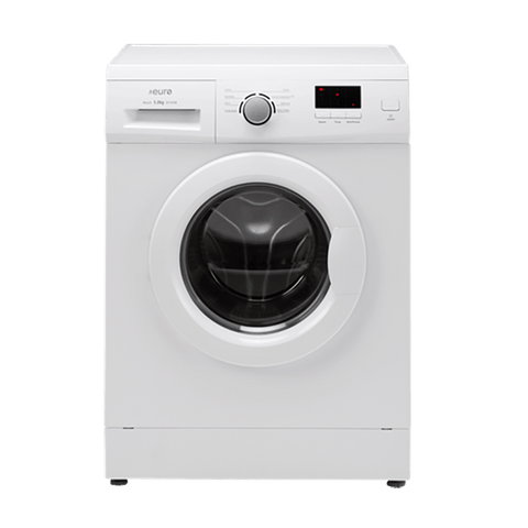 WASHING MACHINE EURO 5kg FRONT LOADER- WHITE