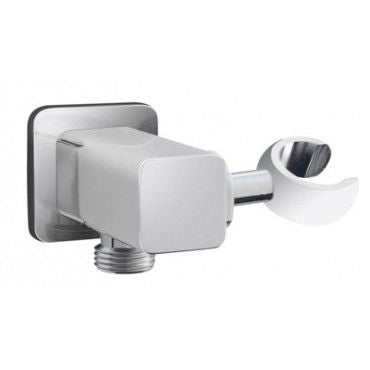 CECILIA WALL ELBOW with BALL JOINT Chrome
