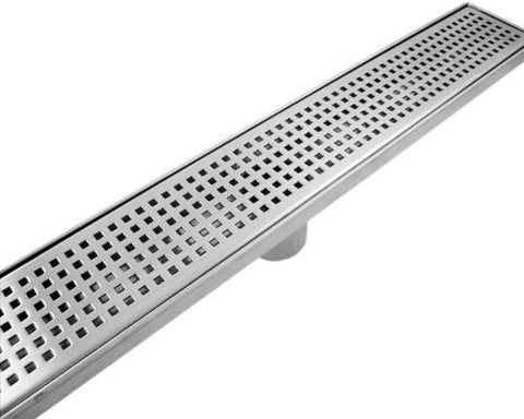 Grate 650/900/1000mm SQUARE PATTERN Stainless Steel 304