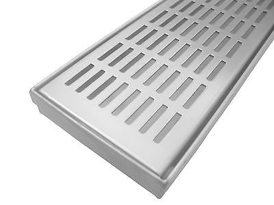Grate 650/900/1000mm RECTANGULAR PATTERN Stainless Steel 304