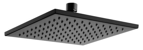 Quadra Shower Head 200x200 MATTE BLACK