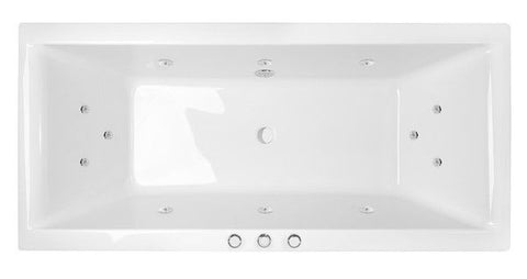 MARTINO 1745 SPA BATH - Santai 12 Jets White