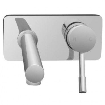 LUCIEDO Bath Mixer with Spout Chrome