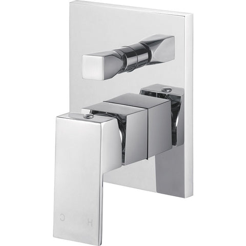 Quadra Linear Square Wall/ Shower Mixer with Diverter