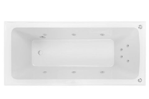 SHEENA 1600 Rectangle ISLAND SPA - 12 Jets