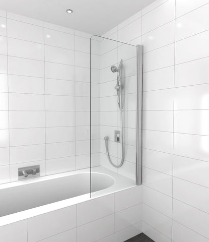 Bath Screen SINGLE SWING Safety Glass 10 yr warranty