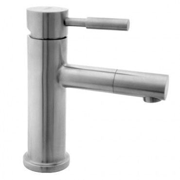 S/S Fixed Basin Mixer with Swivel End - 35mm