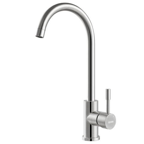 Kimi Stainless Steel Deluxe Swivel Sink Mixer Gooseneck