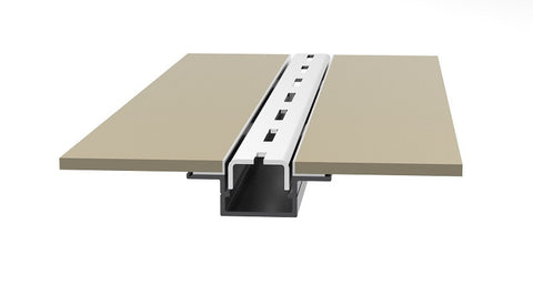 Grate Stripgrate CHROME INSERT 1200mm (cut down, in wall, corner)