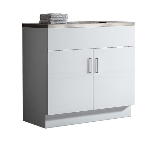 Kitchenette Sink Cabinet: Kitchenette Gloss 900 X 460mm, Single Sink Top 1TH