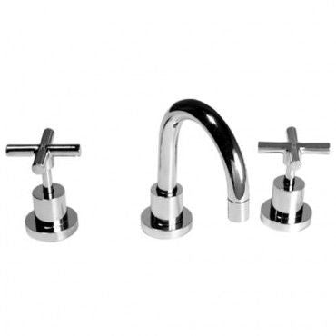 SANTA FE Basin Set Chrome