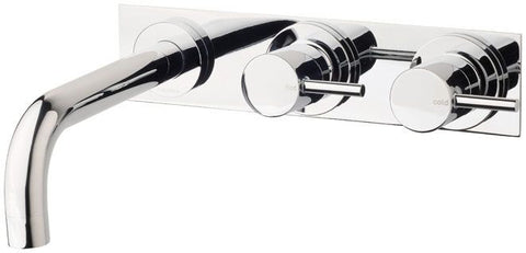 VIVID Pin Lever Bath Set 180mm Curved