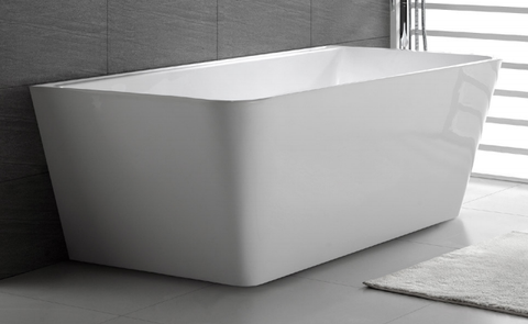 ARIA 1700 Back-to-Wall Slimline Freestanding Bath