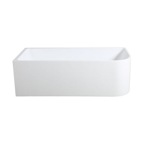 KELLY KD 1500 Back-to-Wall & Corner 2 Sided Freestanding Bath