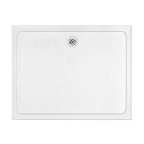 PRELUDE Shower Base 1200 X 900 X 80H mm, 4 Tile Bead Rectangular