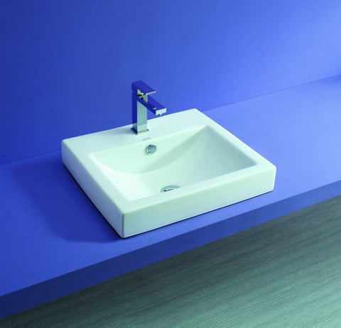 Semi-Inset Low Profile Cuba 540 Basin