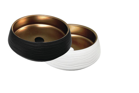 Above Counter Designer Zues Bronze 445 Basin