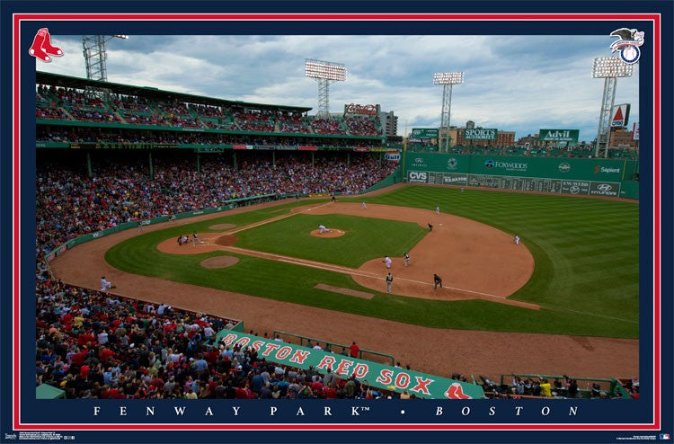 Boston Red Sox Fenway Park - 24 x 36 - SPT35698