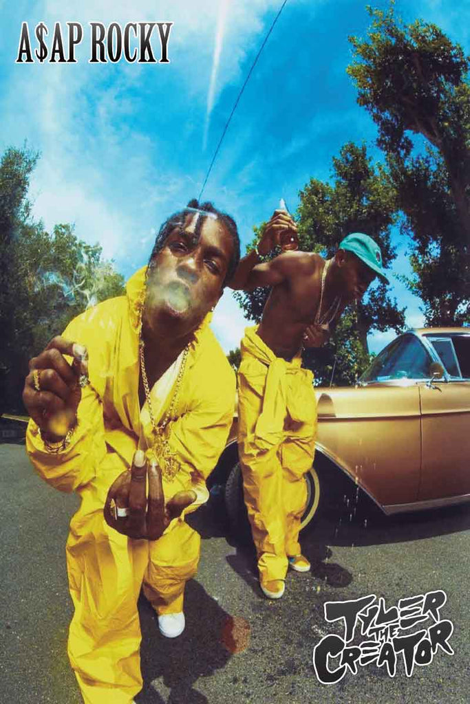 ASAP Rocky & Tyler the Creator Jumpsuits - 24 x 36 - MUS56378