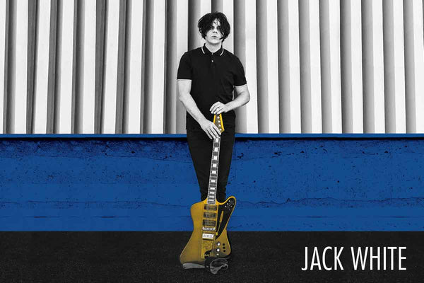 Jack White Poster - 24 x 36 - MUS18660