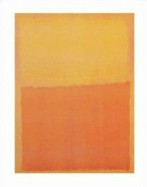 Mark Rothko - 'Orange and Yellow' (11x14) - FAR00704