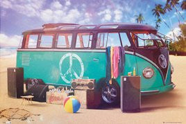Volkswagen Beach Party (24x36) - SPT90082
