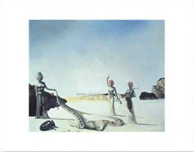 Salvador Dali - 'Three Young Surrealist Women' (11x14) - FAR00324