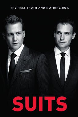 "Suits ""Half Truth"" (24x36) - FLM91077"